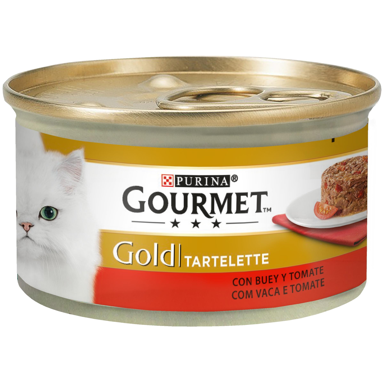 Gourmet Gold Tartelette Carne De Vaca E Tomate