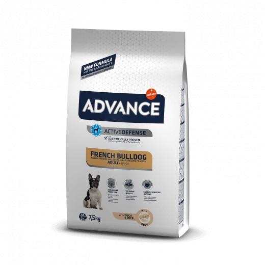 Advance Dog French Bulldog Duck & Rice