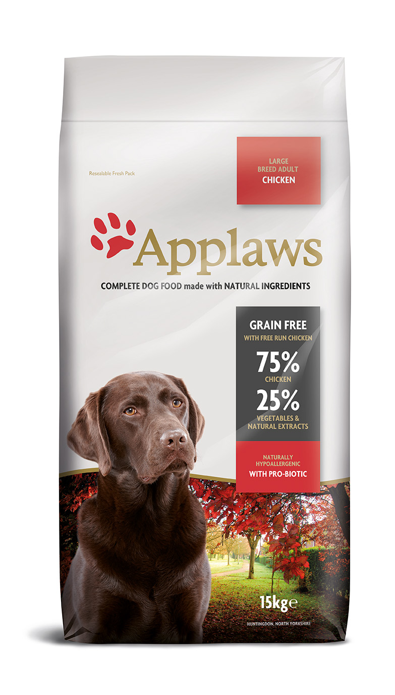 Applaws dog dry Adulto Galinha porte grande