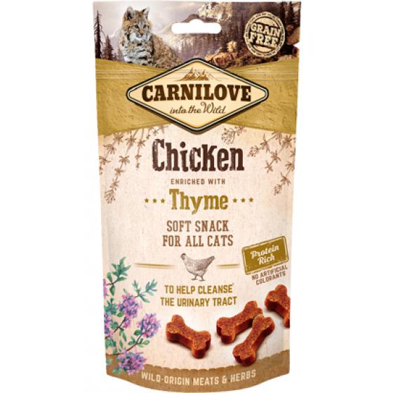 Soft galinha com tomilho