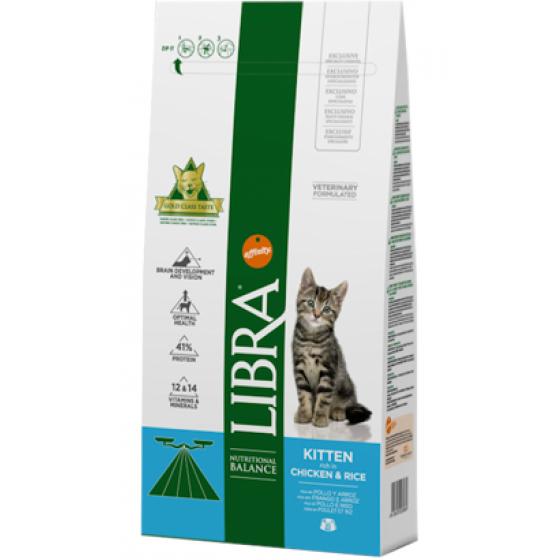 Libra Kitten Frango & Arroz